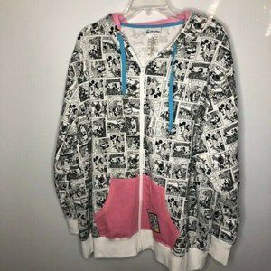 Disney Parks Disneyland Black And White Sweatshirt